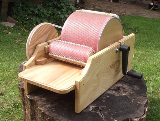 Large Drum Carder